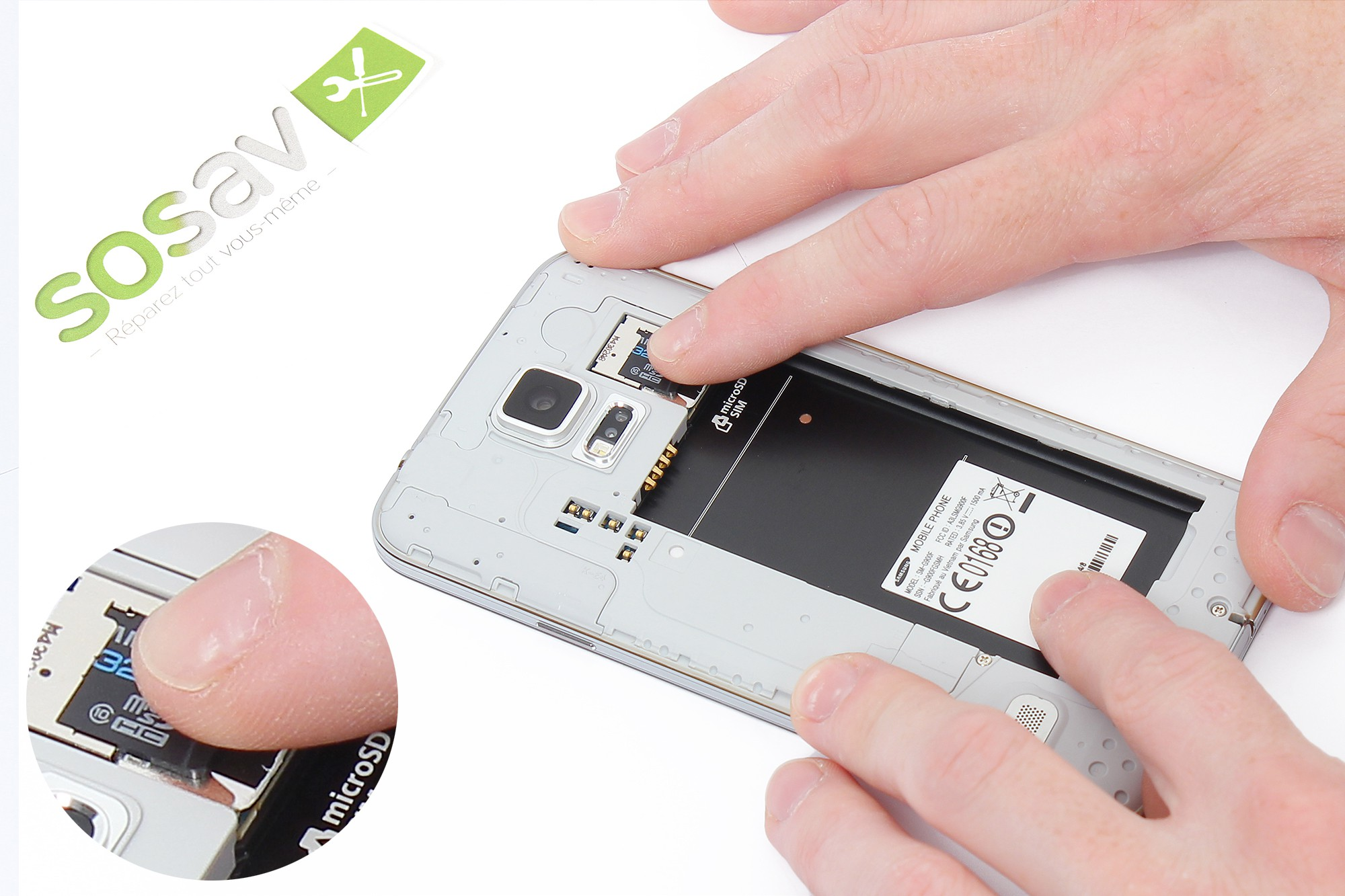 r paration carte micro sd samsung galaxy s5 guide