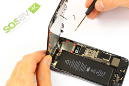 Tuto réparation iPhone 5S: Ecran complet
