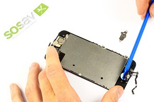 Tuto réparation iPhone 5S: Bouton home