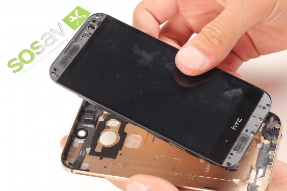 Power Button HTC one M8 repair - Free guide - SOSav