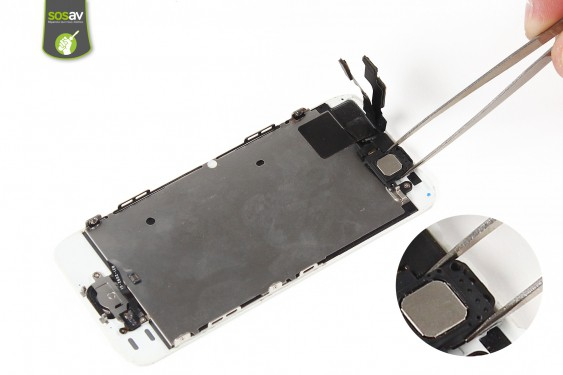 Step 10 - image 1 - Front Camera, Proximity and Light Sensor repair