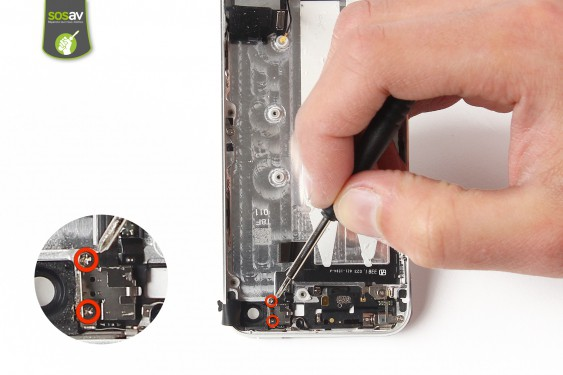 Step 23 - image 1 - Power Cable + Vibrator and Volume Button repair