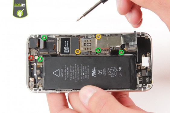 Step 16 - image 1 - Power Cable + Vibrator and Volume Button repair