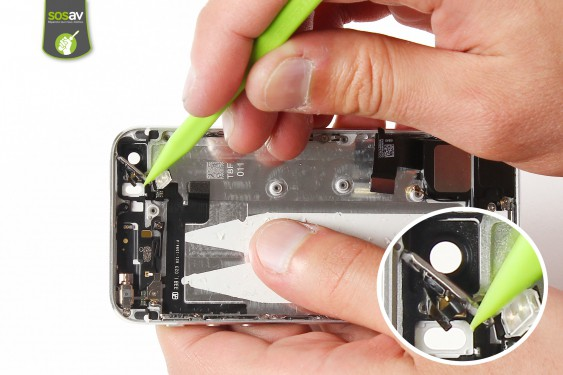 Step 27 - image 1 - Power Cable + Vibrator and Volume Button repair