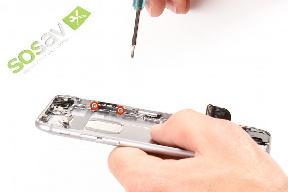 Step 30 - image 1 - Power Button Cable repair