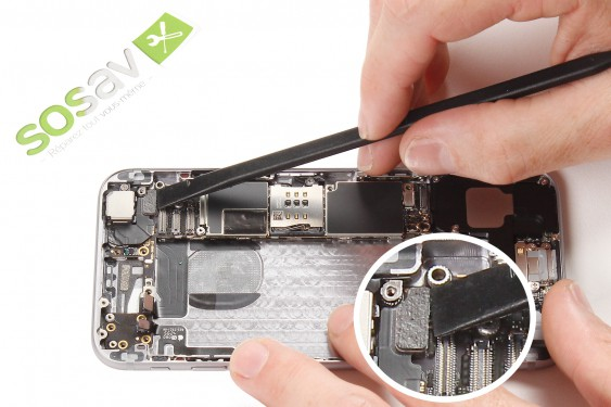 Step 22 - image 1 - Power Button Cable repair