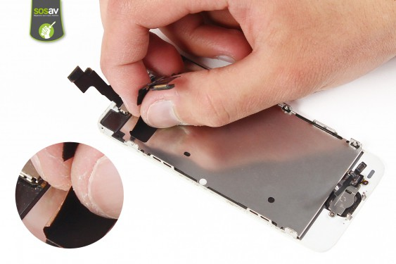 Step 12 - image 2 - Front Camera, Proximity and Light Sensor repair