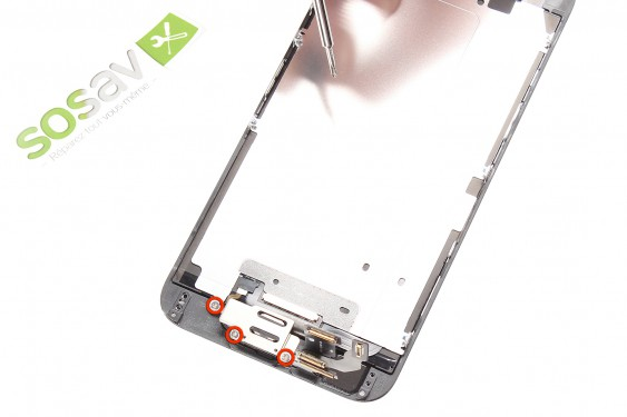 Step 9 - image 1 - Home Button Cable repair