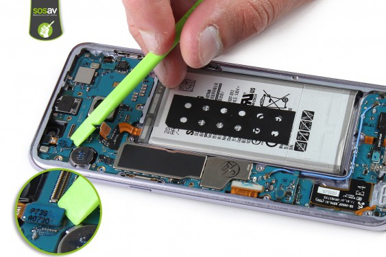 Proximity/Light sensor Samsung Galaxy S8+ repair - Free guide - SOSav