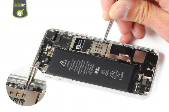 Step 10 - image 2 - SIM Card Tray Lever repair