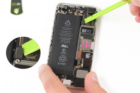 Step 12 - image 1 - Power Cable + Vibrator and Volume Button repair