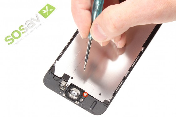 Step 10 - image 1 - Home Button Cable repair