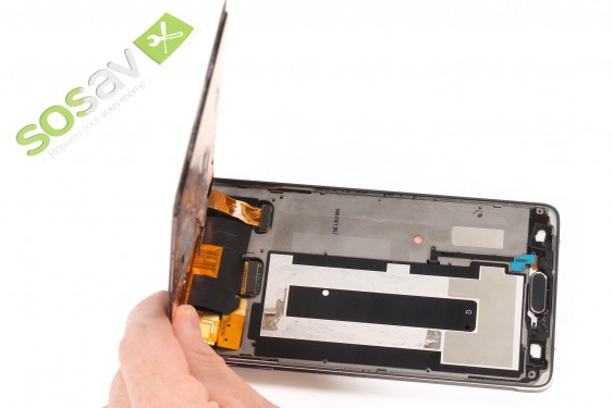 SIM/SD card reader Samsung Galaxy Note 4 repair - Free guide - SOSav