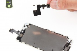 Repair tutorial for iPhone 5S : Front Camera, Proximity and Light Sensor
