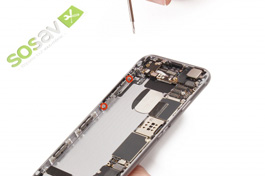 Repair - Repair guide: Volume + Vibrator Buttons Cable iPhone 6