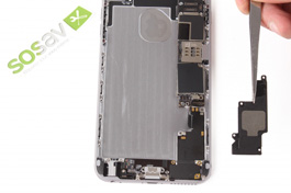 Repair tutorial for iPhone 6 Plus : Speaker