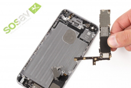 Repair tutorial for iPhone 6 Plus : Logic Board