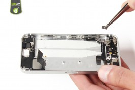 Repair tutorial for iPhone 5S : Vibrator Ring Switch