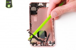 Repair tutorial for iPhone 6S : Power, vibrator, volume, flash, microphone cable