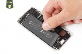Repair tutorial for iPhone 5S : Battery