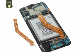 Tuto réparation Galaxy A50 : Nappe LCD