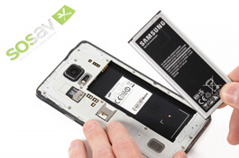 Tuto réparation Samsung Galaxy Note 4 : Batterie