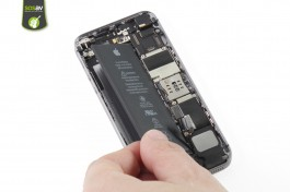 Repair tutorial for iPhone SE : Battery