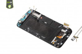 Tuto réparation Samsung Galaxy S6 : Haut-parleur interne/LED infrarouge