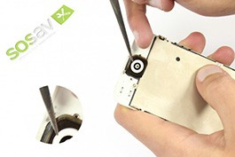 Repair tutorial for iPhone 5 : Home button