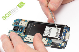 Tuto réparation Samsung Galaxy S5 : Antenne Bluetooth