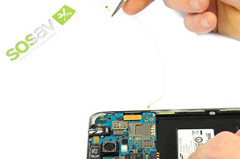 Tuto réparation Samsung Galaxy Note 3 : Antenne