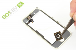 Repair tutorial for iPhone 4S : Home Button Spacer