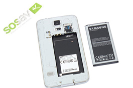 Tuto réparation Samsung Galaxy S5 : Batterie