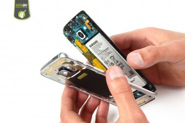 Tuto réparation Samsung Galaxy S6 Edge : Châssis interne complet