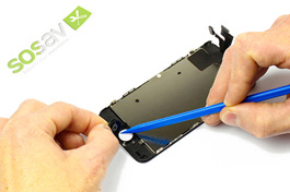 Repair tutorial for iPhone 5C : Home button