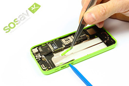 Repair tutorial for iPhone 5C : Volume Button