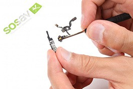 Repair tutorial for iPhone 4 : Proximity and power button flex cable