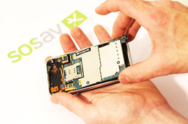 Repair tutorial for iPhone 3GS : Motherboard