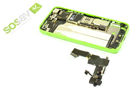 Repair tutorial for iPhone 5C : Dock Connector