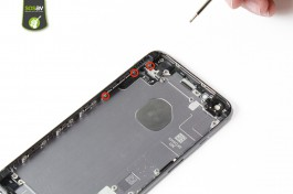 Repair tutorial for iPhone 6S Plus : Rear Panel