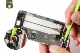 Repair tutorial for iPhone 5S : Power Button