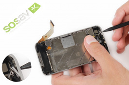 Repair tutorial for iPhone 4S : Power Button