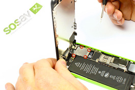 Repair - Repair guide: Display Assembly iPhone 5C