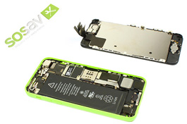 Repair - Repair guide: Front Panel iPhone 5C