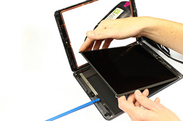 Repair tutorial for iPad Air 1 WiFi : LCD Screen