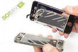 Repair tutorial for iPhone 4 : Complete Retina Screen