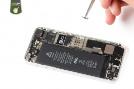 Repair tutorial for iPhone 5S : SIM Card Tray Lever
