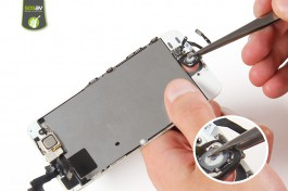 Repair tutorial for iPhone 5S : Home button