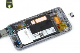 Internal speaker Samsung Galaxy S7 Edge repair - Free guide