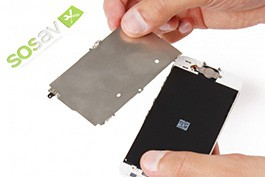 Repair - Repair guide: LCD Shield Plate iPhone 5